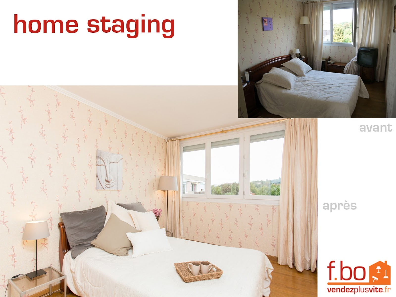 Vendez plus vite votre bien des photos de home staging avant apr s - Faire du home staging soi meme ...