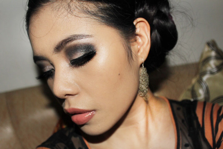beautyklove smokey eyes prom makeup tutorial 2013