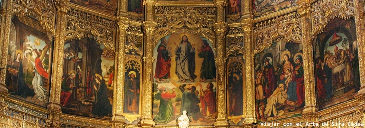 Borgoña retablo Catedral Ávila
