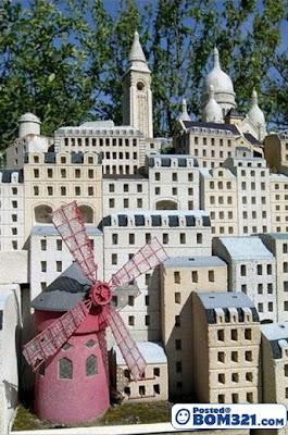 Replika Mini Bandar Perancis