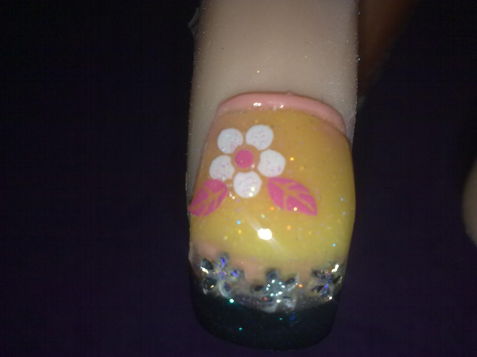 Glammy Girls Beauty Blog: Spring inspired Nail Designs!