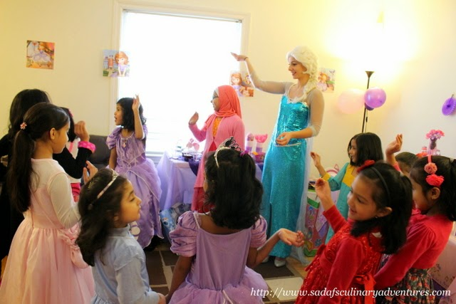 Princess Visit - Ice Queen Elsa from Wishes Princess Parties