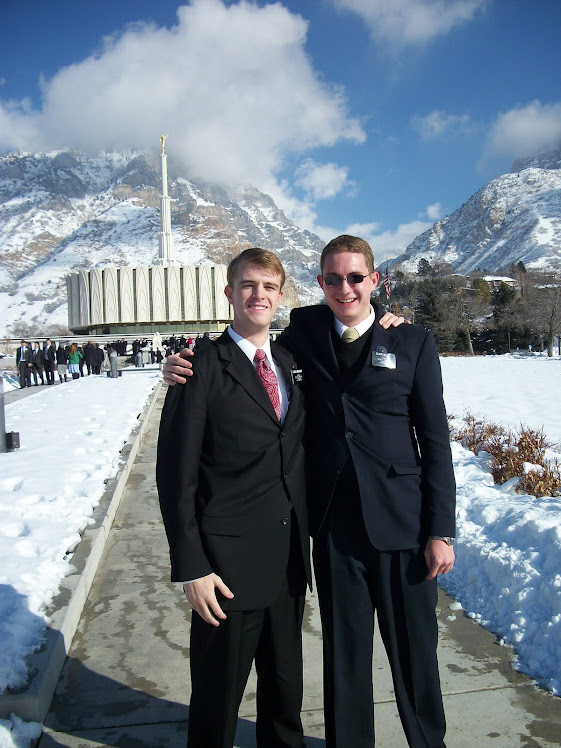 Elder Dallin Bergquist & Christopher