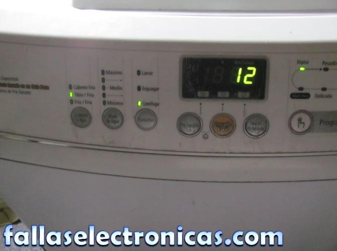 Reparaci n de electrodom sticos t cnicos lavadora lg no for Como reparar una lavadora