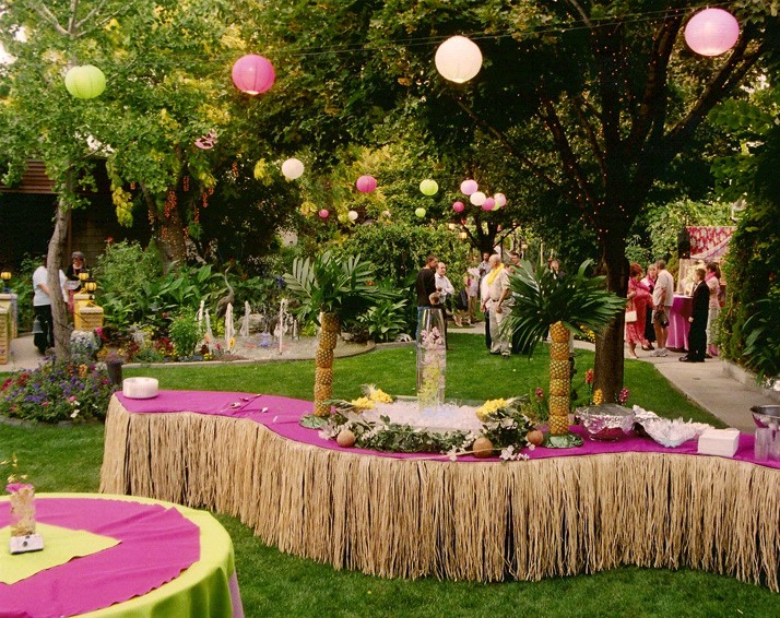 Marriage Cost Saving With Garden Party Concept Wedding Concept Ideas