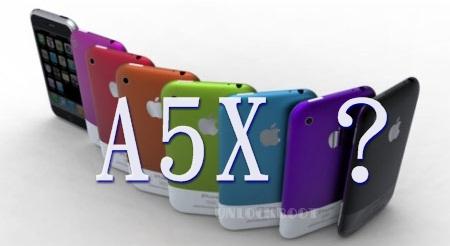 A5X Processor in iPhone 5 ?