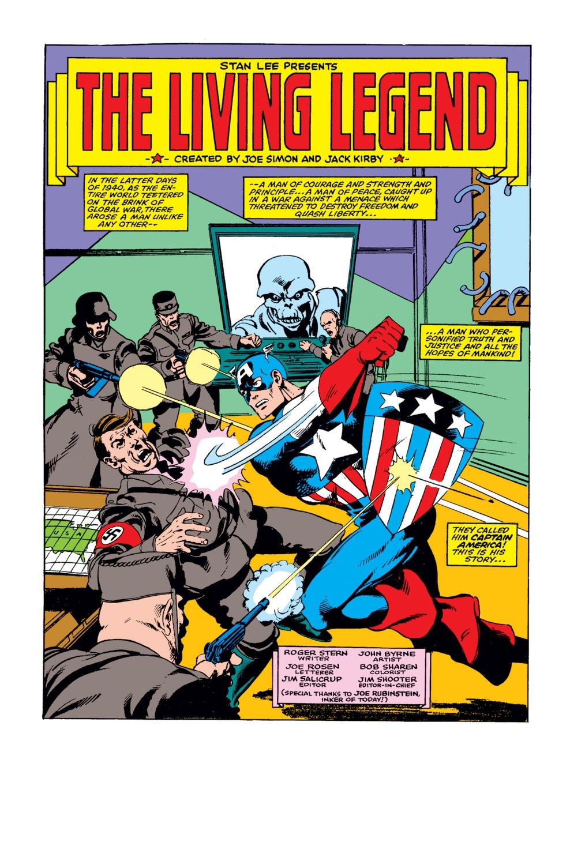 Captain America (1968) Issue #255 #170 - English 2