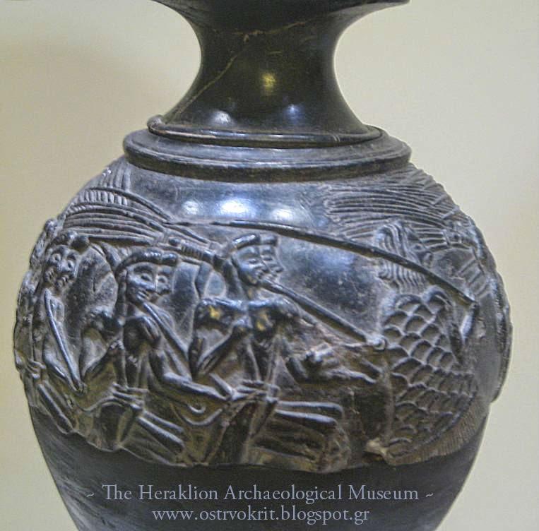 Arheoloski muyej u Irakliu, Hrekalion, harvester vaza