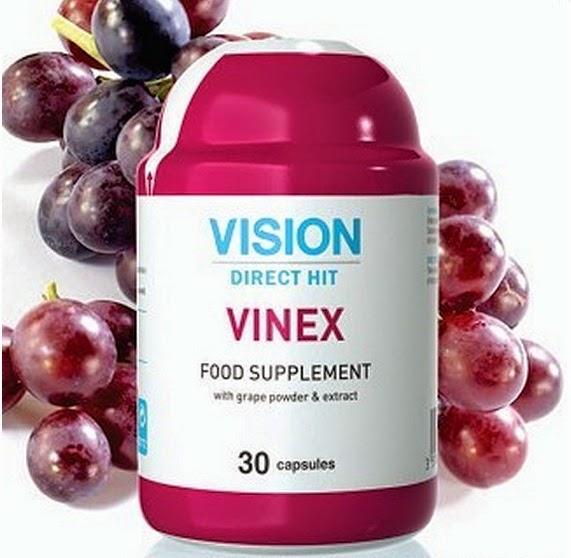 Vinex  Vision tăng hiệu quả tinh mạch