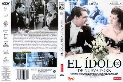 El ídolo de Nueva York | 1937 | Cover, Dvd, Carátula, Cartel