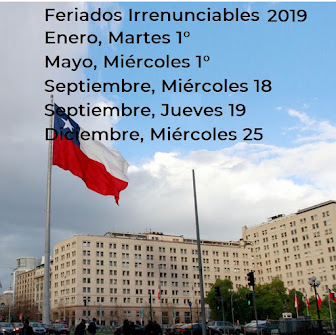 Feriados Irrenunciables en Chile