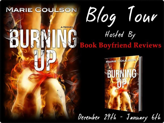 Burning Up by Marie Coulson Blog Tour Review & Giveaway