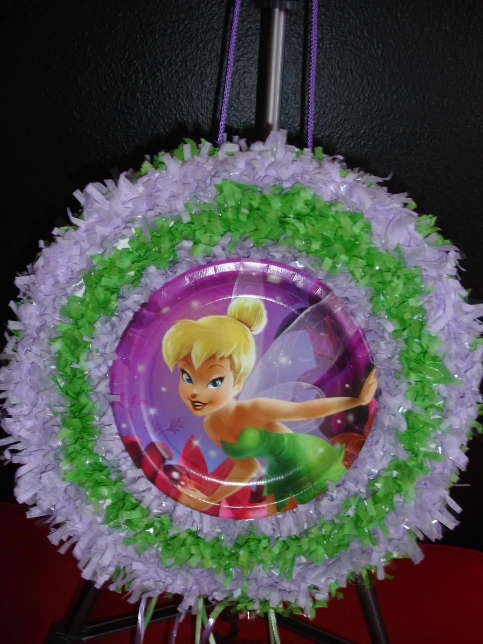 MuyAmeno.com: Piñatas Tinkerbell, parte 1