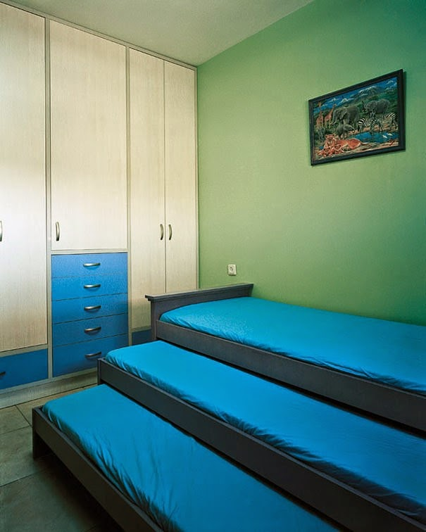16 Children & Their Bedrooms From Around the World - Tzvika, 9, Beitar Illit, The West Bank