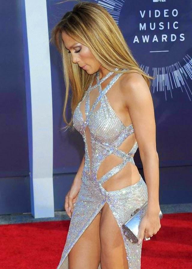 Vemos el calzón a Jennifer López