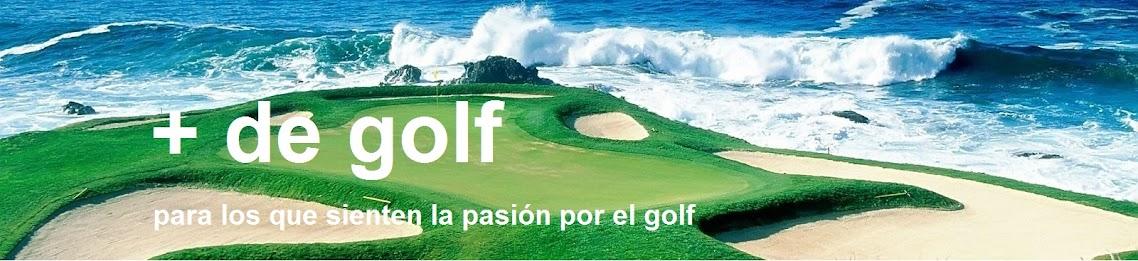 + de golf