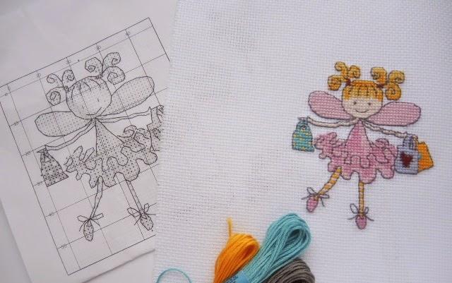 схема вышивка крестиком дети