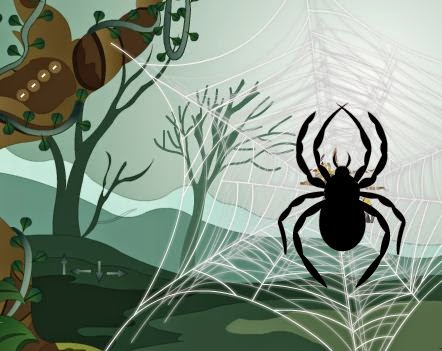 Hidden O Games Escape from Spider Game Walkthrough