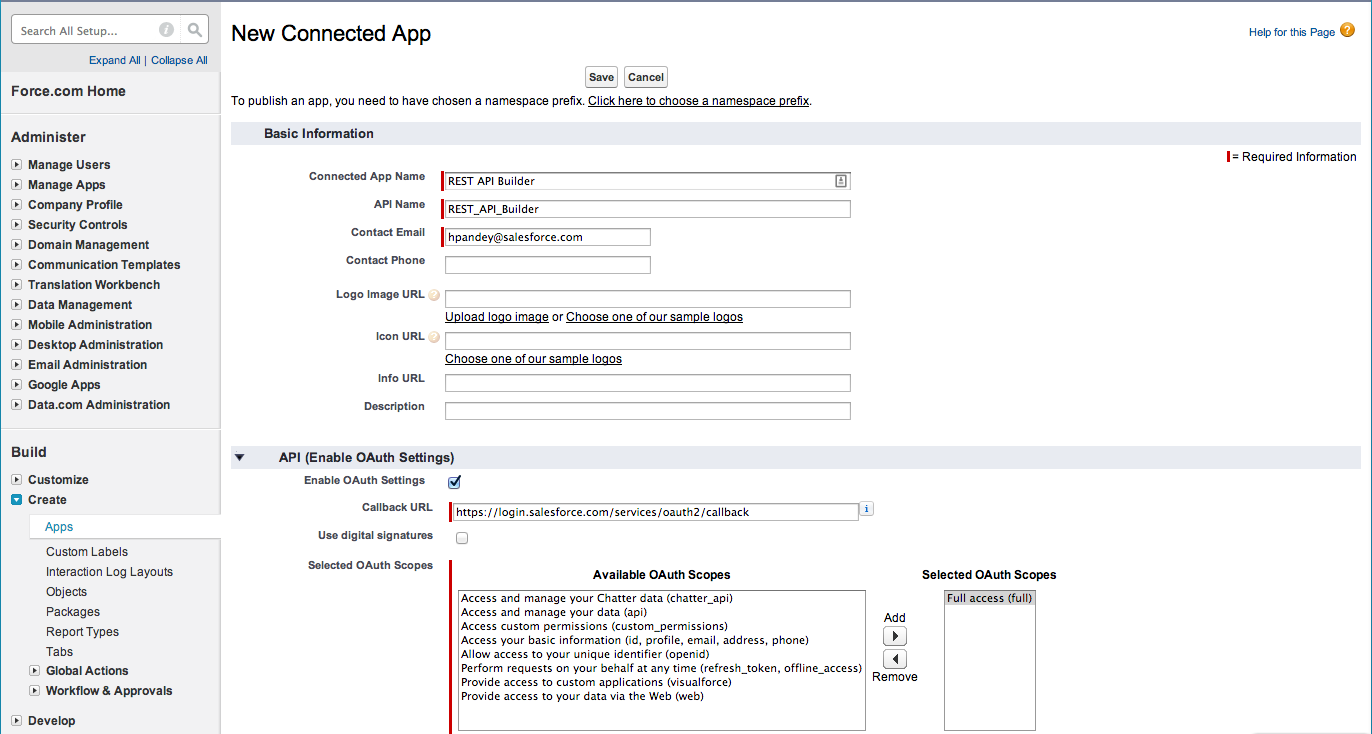 Start Building Your Own Rest Api In Salesforce Using Apex Oyecode
