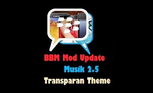 BBM Mod Tema Transparan