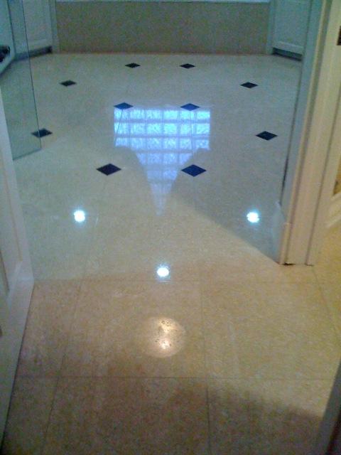 how to make marble shine