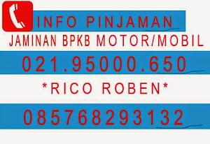 Info Dana Tunai Jaminan BPkb Mobil Motor  24 JAM NONSTOP