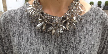 Statement necklace, Zara jewellery, Zara accessories, necklace