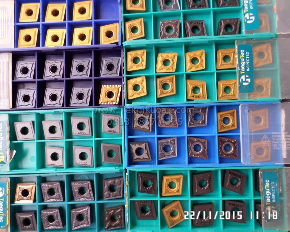 Insert Bubut CNMG 120404/08/12 | Pisau Bubut | Insert Carbide Baru Tanpa Bok