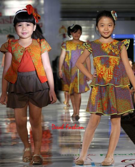 Inspirasi Baju Batik Anak Penuh Warna
