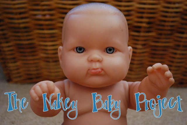 The Blueberry Moon Nakey Baby Doll Clothes