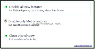 disable windows8 metro UI feature
