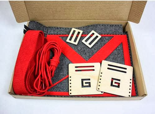 GMail DIY Messenger Bag