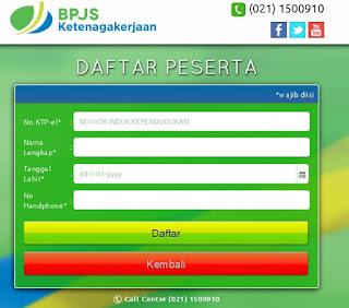 form daftar bpjs kesehatn online