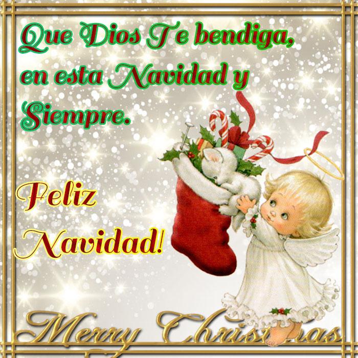 que dios te bendiga esta navidad imágenes para facebook