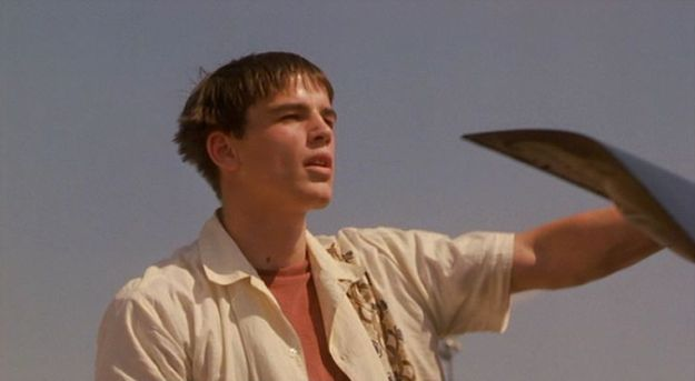 Josh Hartnett in The Faculty 1998