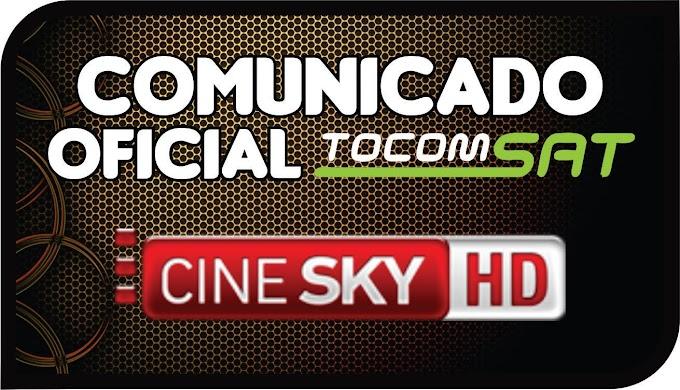 TOCOMSAT COMUNICA CINESKY / SKS - 27/11/2015