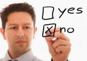Menghilangkan stres dengan belajar berkata tidak