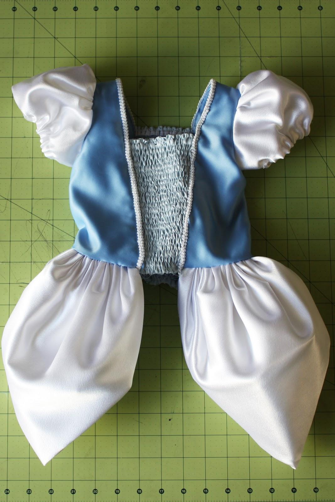 Как сшить платье для золушки своими руками