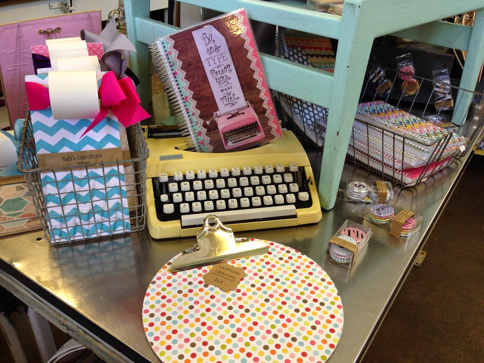 Handmade Notepads Cherry Tree Creative Taylor TX Shop Taylor TX