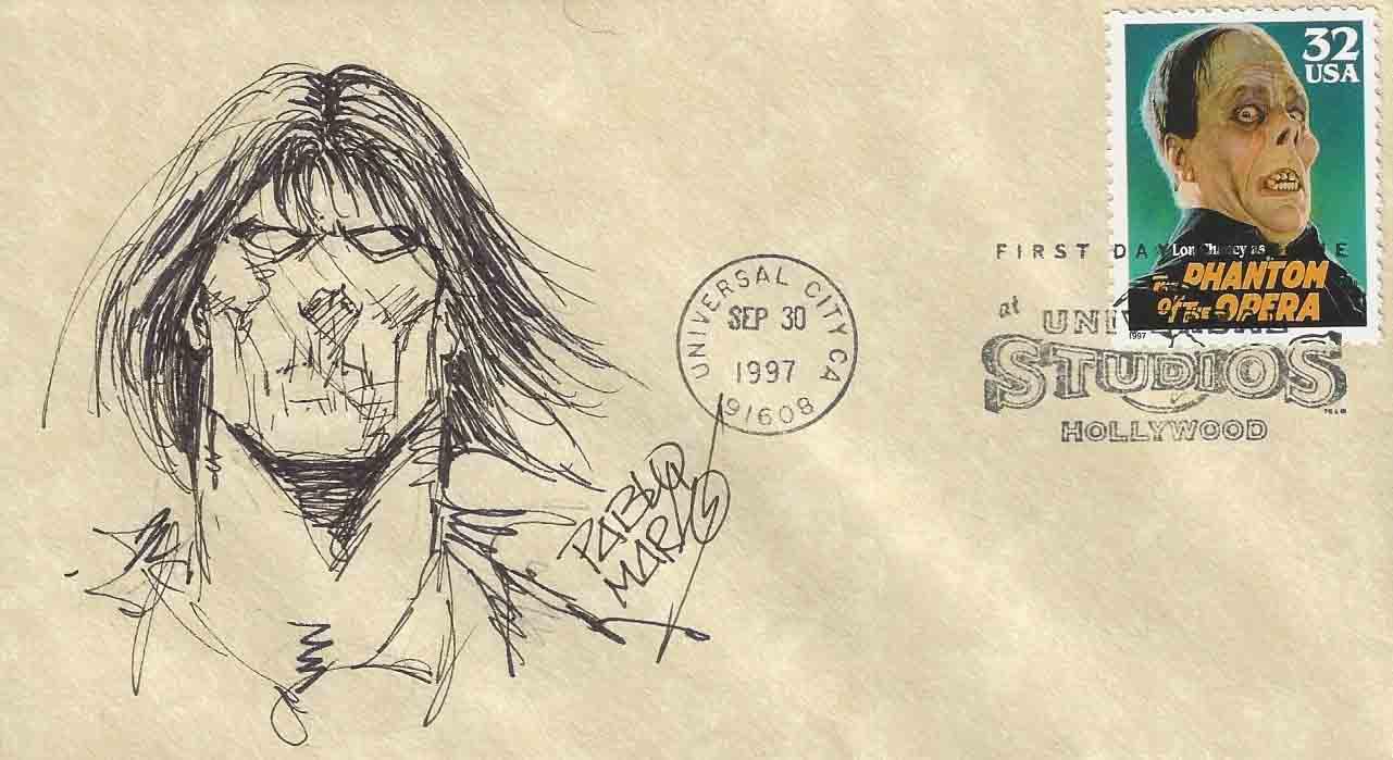 Comic FDC: Pablo Marcos - Zombie
