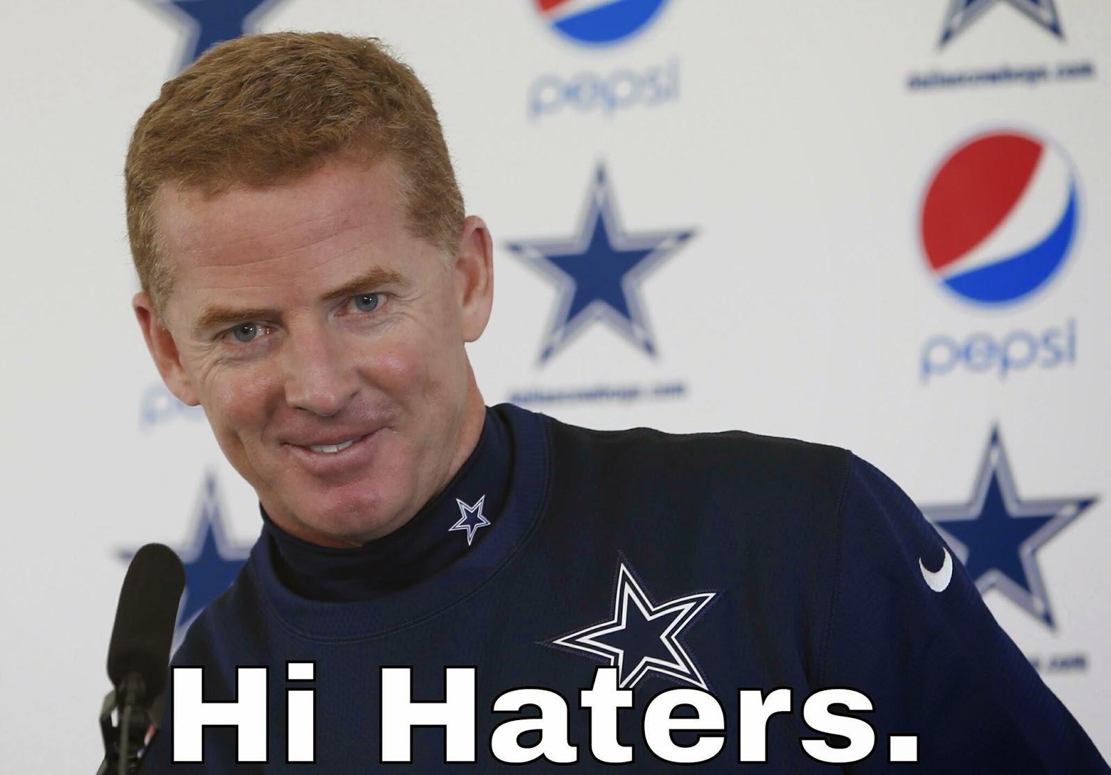 Hi haters. #cowboys #CoachCowboys #JasonGarrett