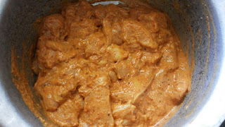 Add The Marinate Mixture To Chicken Pieces And Mix Well