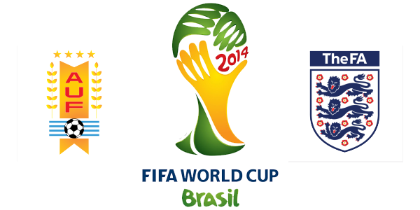 England Vs Uruguay Match Kick-Off Time, Schedule, TV coverage and Predictions FIFA World cup 2014