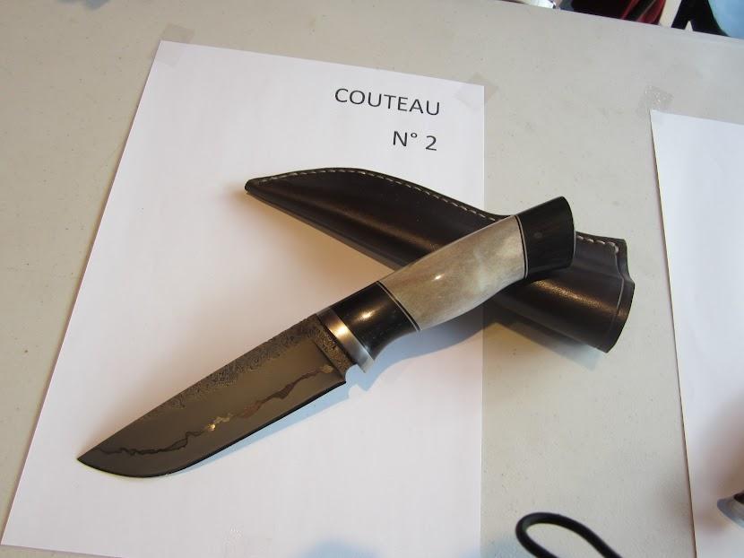 LE COUTEAU CLASSE 1 er de BELZUNCE Maxime