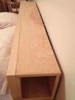 King Wall Bed With Piers