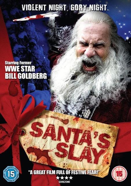 poster santa's slay
