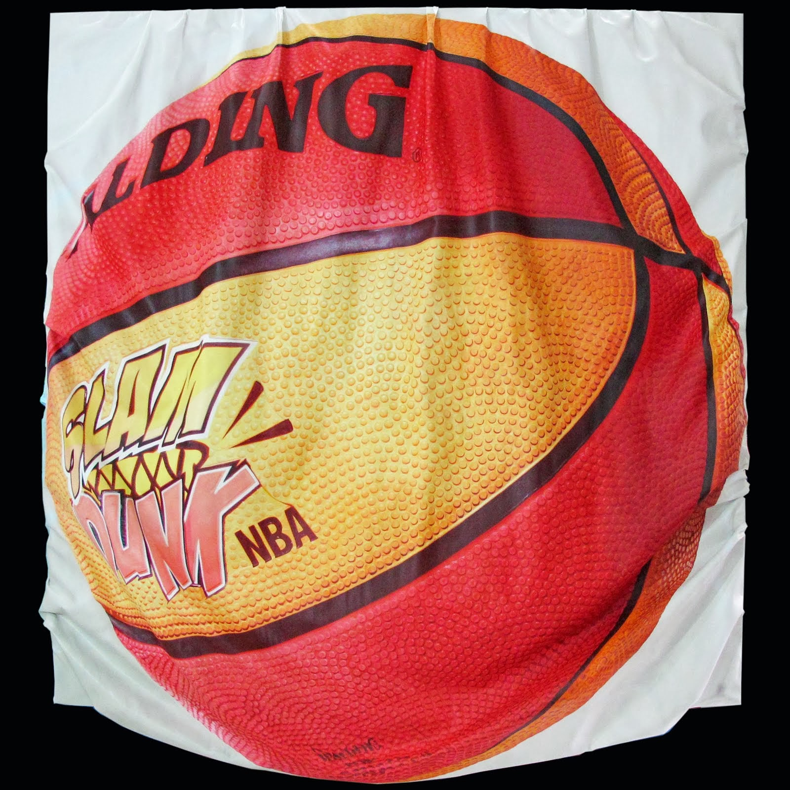 Spalding ball 'melting'