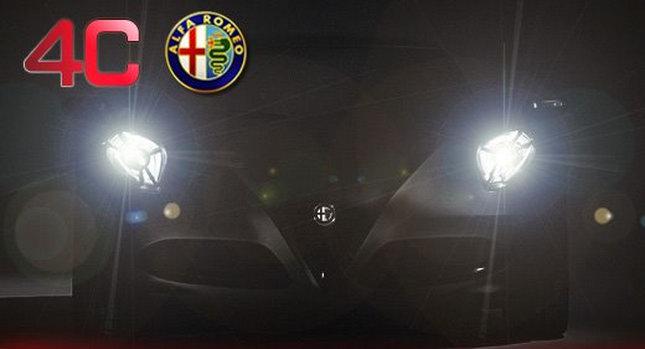 Alfa Romeo 4c 2012