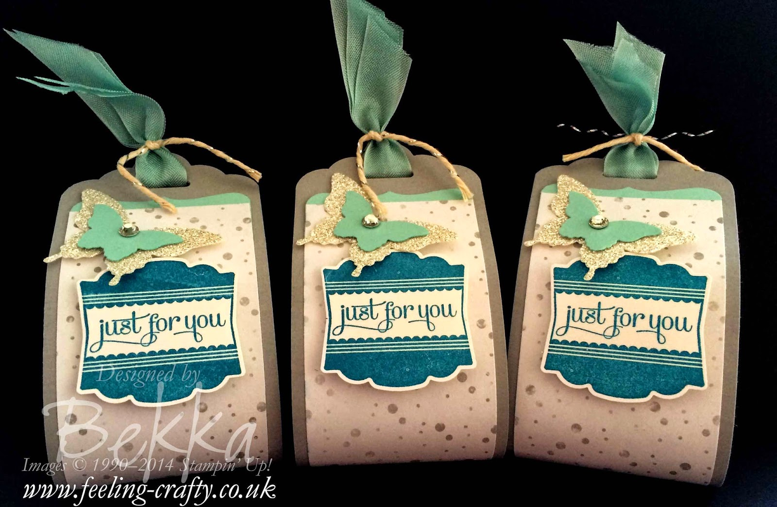 Sweet Treats made with Label Love from Stampin' Up! UK Demonstrator Bekka