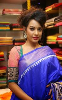 Diksha panth in Saree at Nakshatra Designer Store Launch